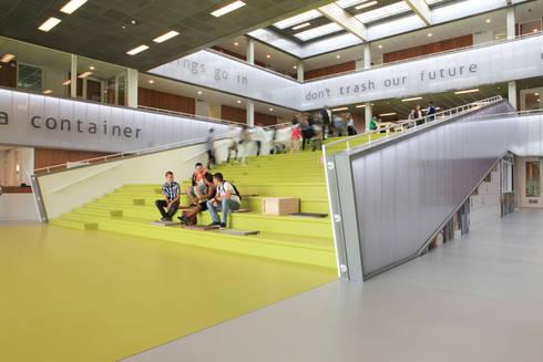 Lyceum Schravenlant:   door Liag Architecten en Bouwadviseurs