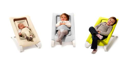 Chaise longue up to 18 kg : minimalistische Woonkamer door Studio Gooris Ltd