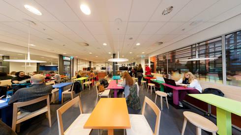 Campus Den Haag Universiteit Leiden:   door Liag Architecten en Bouwadviseurs
