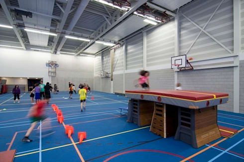 IJburg College:   door Liag Architecten en Bouwadviseurs