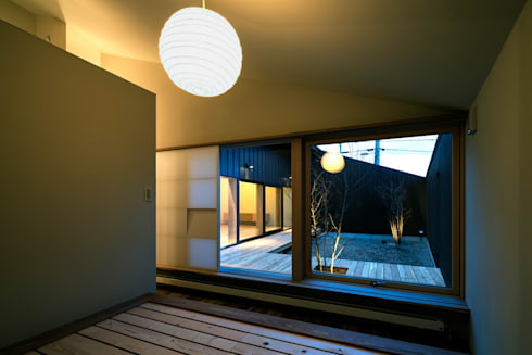 オオヤネコート: 有限会社TAO建築設計が手掛けた窓です。