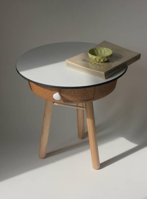 Salones de estilo minimalista de Quentin Mevel