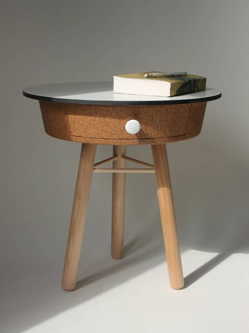 Projekty,  Salon zaprojektowane przez Quentin Mevel