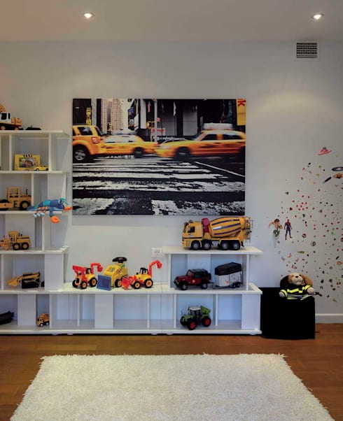 HANDE KOKSAL INTERIORS – House E - E Evi: modern tarz Çocuk Odası