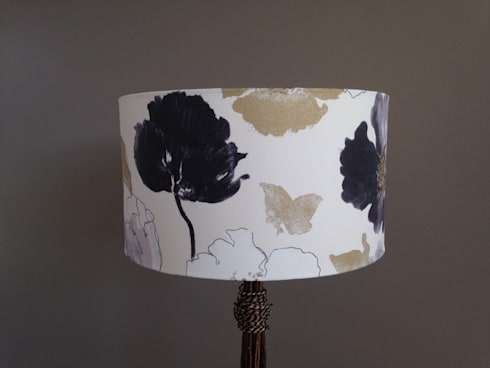 Lampshades: modern Living room by Amanda Christie Designs