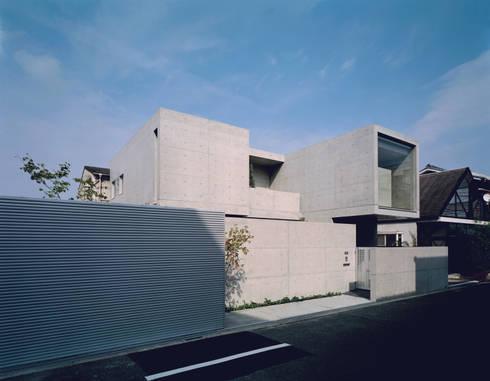 外観: atelier mが手掛けた家です。