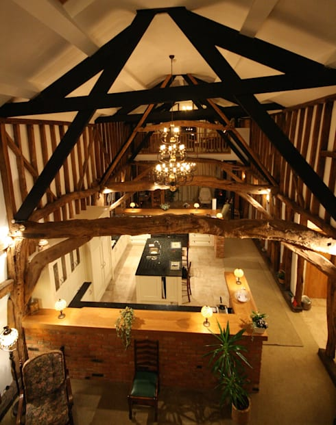 Grade 2 Listed Barn Lighting Design
