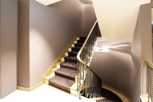 Hotel City, Zurich:  Corridor & hallway by Dyer-Smith Frey