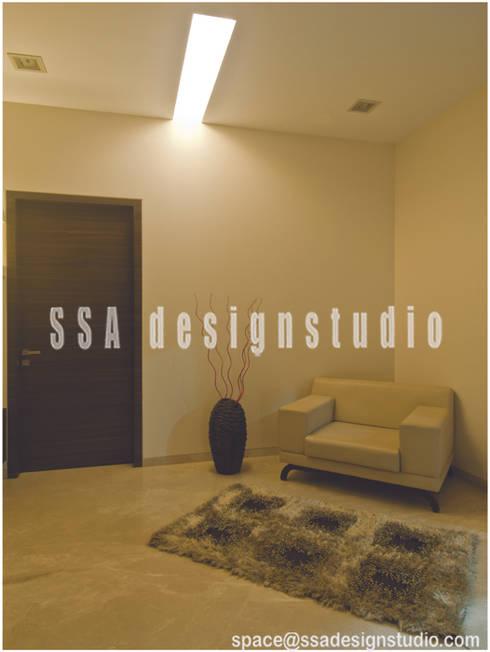 Residence:  Bedroom by SSA Design Studio