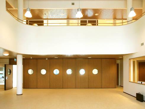 OBS Basisschool Apollo 11 te De meern, Utrecht:  Scholen door Rinus Roovers Architectuur
