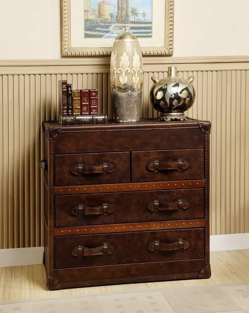Vintage Storage Trunk: classic Living room by Locus Habitat