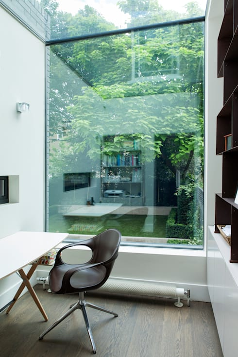 Oficinas de estilo minimalista por Lipton Plant Architects