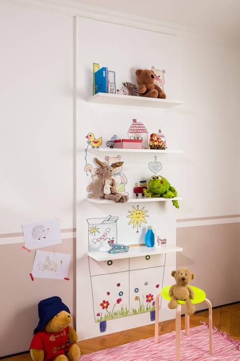 taPETI Kinderzimmer:  Wände & Boden von taPETI