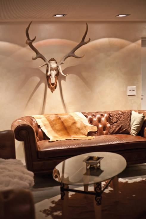 loungebereich:  Wohnzimmer von einfall7 GmbH