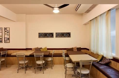Hotel Novo Mundo – Cozinha/Refeitório dos Funcionários: Hotéis  por DG Arquitetura + Design