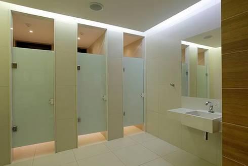 Panamera Bistrô - Banheiros Públicos: Espaços gastronômicos  por DG Arquitetura + Design