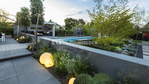 Wellness garden with pool Barendrecht by ERIK VAN GELDER | Devoted ...