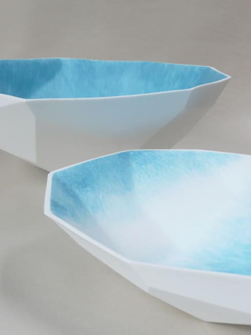 Ice: moderne Eetkamer door Winter Ceramics