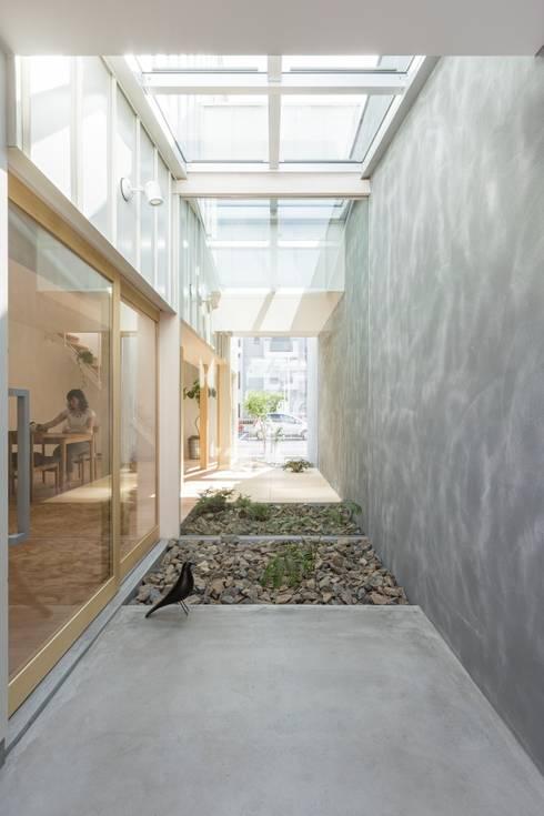 Kusatsu House: ALTS DESIGN OFFICEが手掛けた庭です。