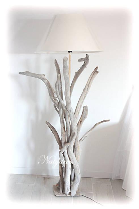 décoration en bois flotté par Natydeco  homify ~ Lampadaire En Bois Flotte