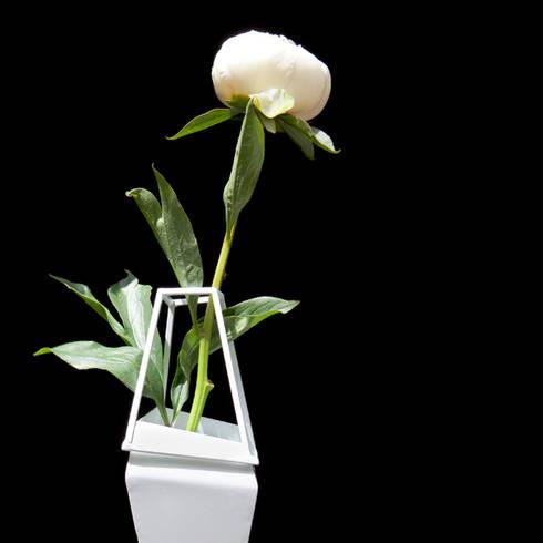 Vase:  Binnenbeplanting door Studio Peter Van Riet