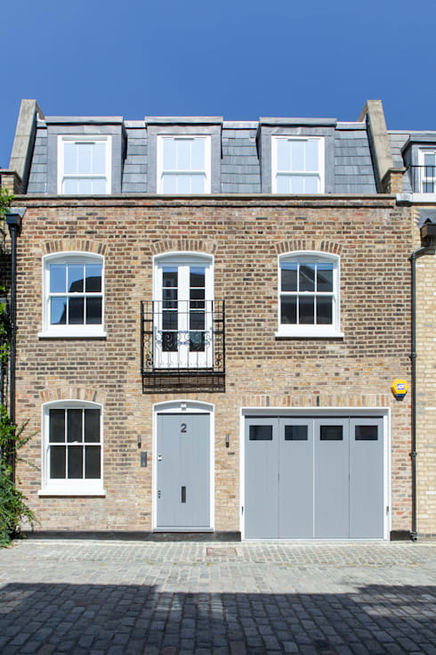 Pindock Mews: modern Houses by Lipton Plant Architects