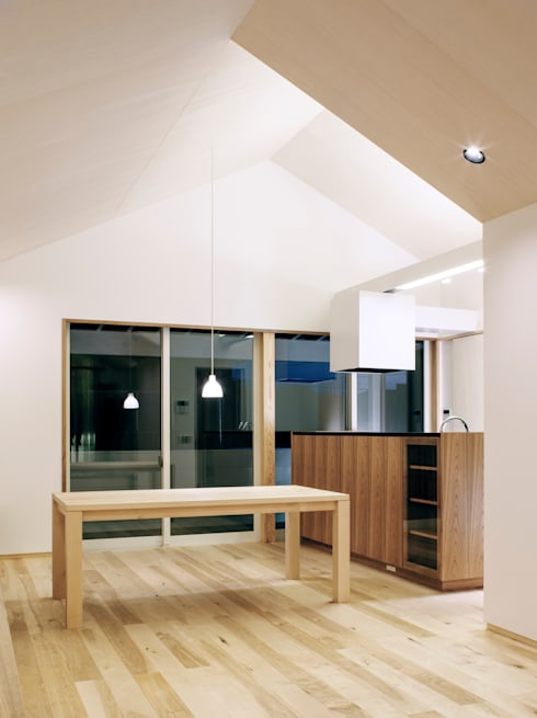 modern Houses by アトリエ FUDO