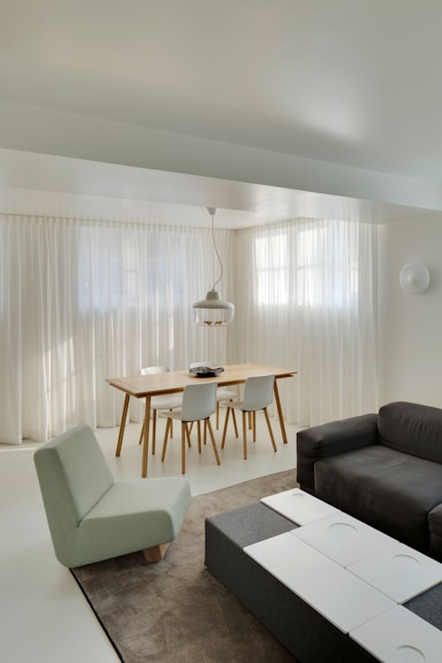 Dining room by Wiel Arets Architects