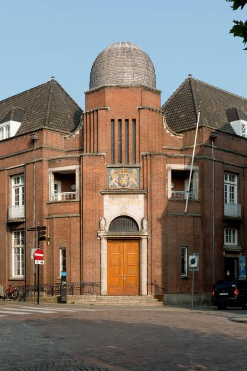 The Post:  Huizen door Wiel Arets Architects