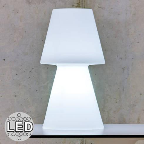 Les casa light des lampes tendances pour l 39 int rieur ou l - Lampe sans fil exterieur ...