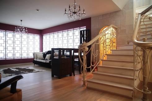 Experiments in art Nouveau style: Adegas modernas por D O M | Architecture interior