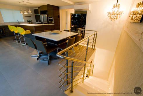 ESPAÇO GOURMET:   por injy Interior Design