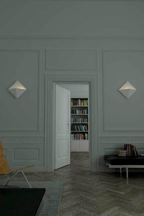 Infografías: Paisajismo de interiores de estilo  de Alum Design Works
