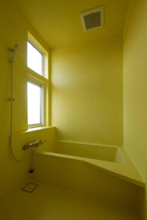 浴室: m+oが手掛けた浴室です。