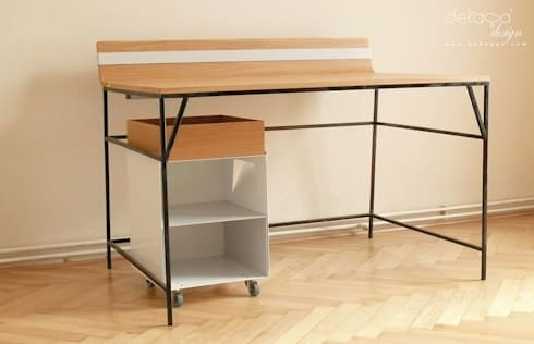 creative home office bureau von dekappa design homify. Black Bedroom Furniture Sets. Home Design Ideas