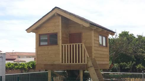 Caseta del Arbol: Habitaciones infantiles de estilo  de Prodereco