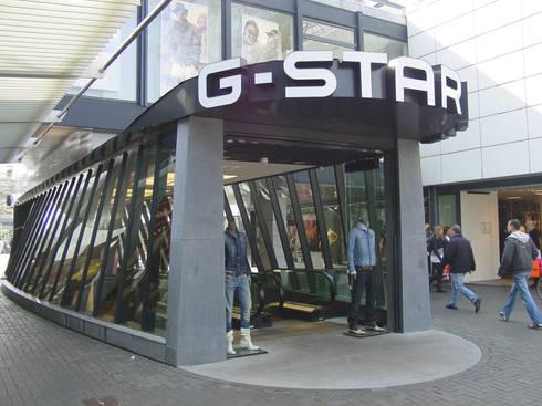winkel G-Star op de Lijnbaan:   door Linea architecten