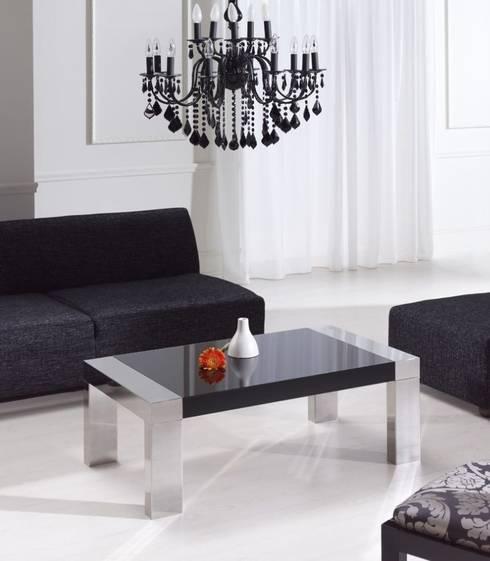Mesa de centro Rigarda: Salones de estilo moderno de Paco Escrivá Muebles