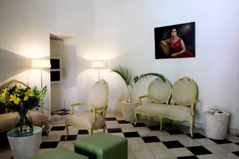 Cafetería: Hoteles de estilo  por Taller Estilo Arquitectura
