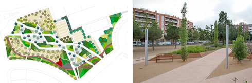 Parc Gandhi:  de estilo  de Green Effect