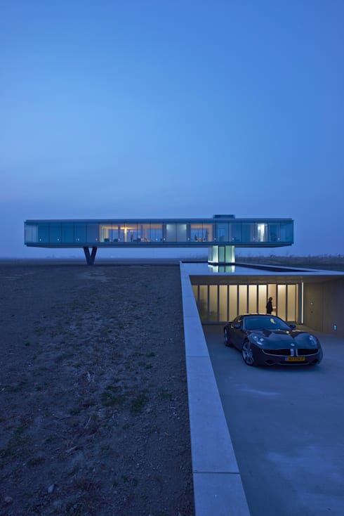 Villa Kogelhof:  Huizen door Architectenbureau Paul de Ruiter