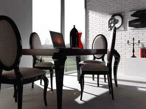 PANELPIEDRA BRICK: Oficinas y tiendas de estilo  de PANELPIEDRA