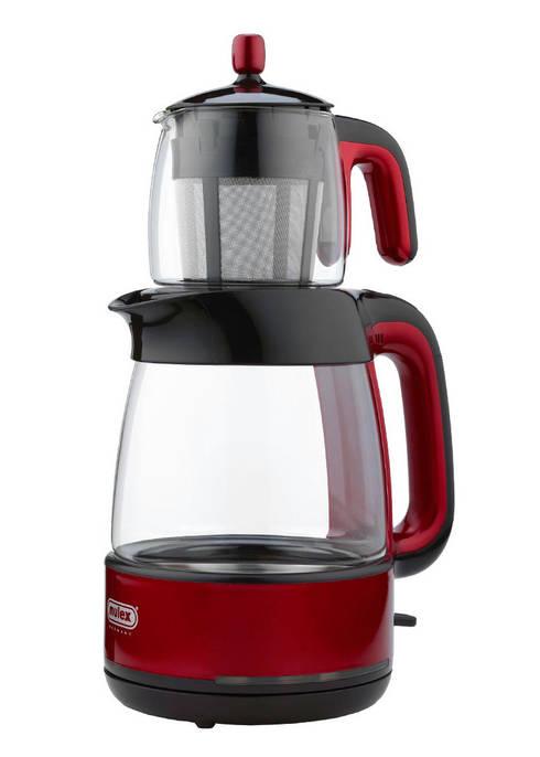 Der Tee-Express in Rot :  Küche von Mulex GmbH