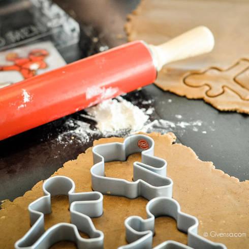 Moldes de galletas - Ninjas: Cocina de estilo  de Givensa