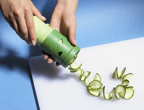 Cortador de verduras - Veggie Twister: Cocina de estilo  de Givensa