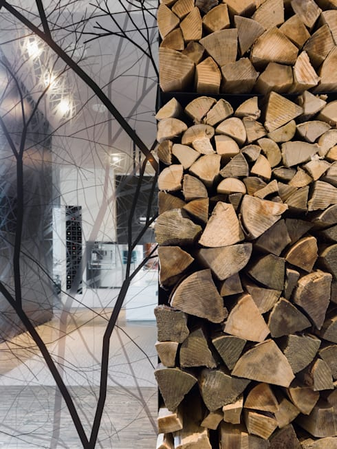 Loft ESN:  Wohnzimmer von Ippolito Fleitz Group – Identity Architects