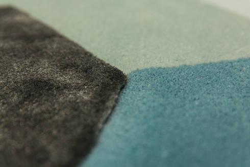 Escape:  Muren & vloeren door the wool studio