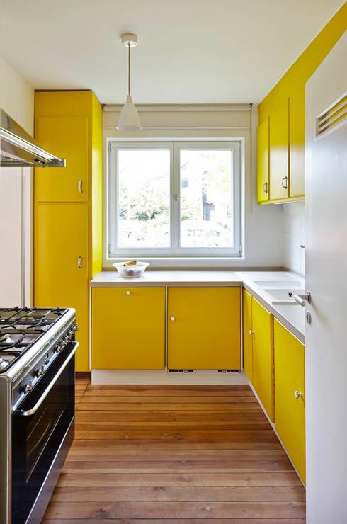 Projekty, eklektyczne Domy zaprojektowane przez Turck Architekten