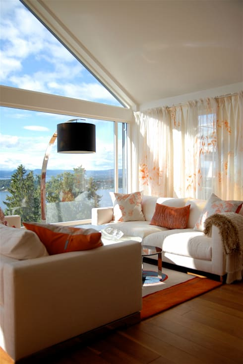 Sala de estar  por Michele Oberdieck Textile Design
