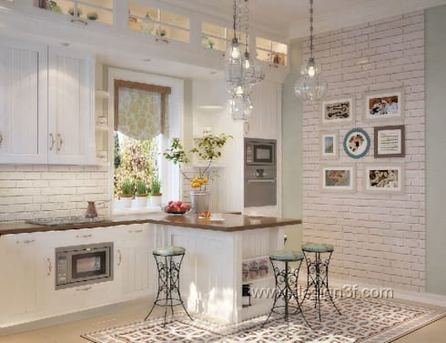 Дом в Санкт-Петербурге: Кухни в . Автор – студия Design3F